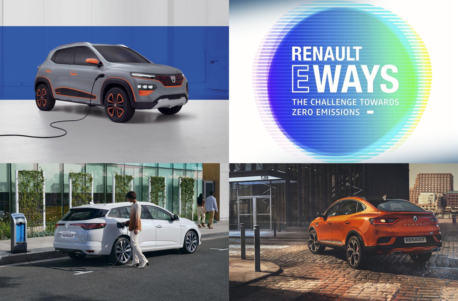 Электрический кроссовер Renault дебютирует наонлайн-шоу eWays