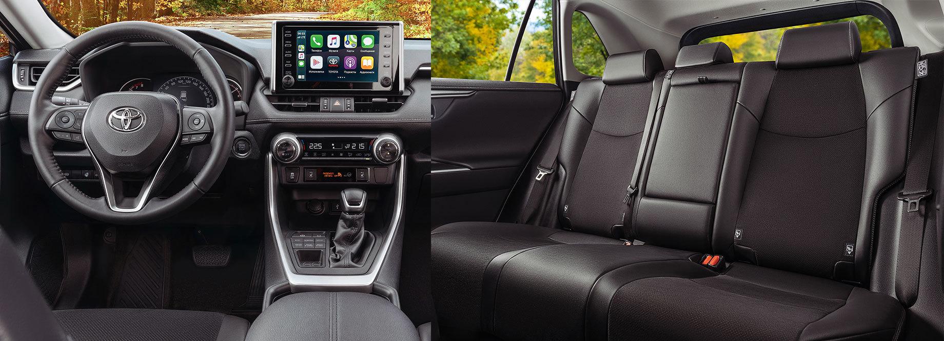 ВРоссии появилась чёрно-белая Toyota RAV4 Style