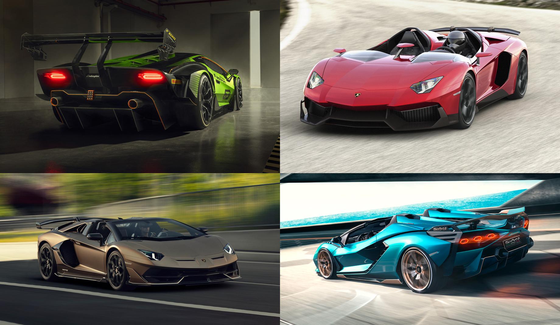 Lamborghini намекнула набезумный гиперкар SCV12 Aperta