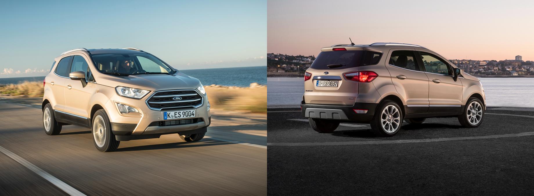 Ford EcoSport Active пополнит семью приподнятых моделей