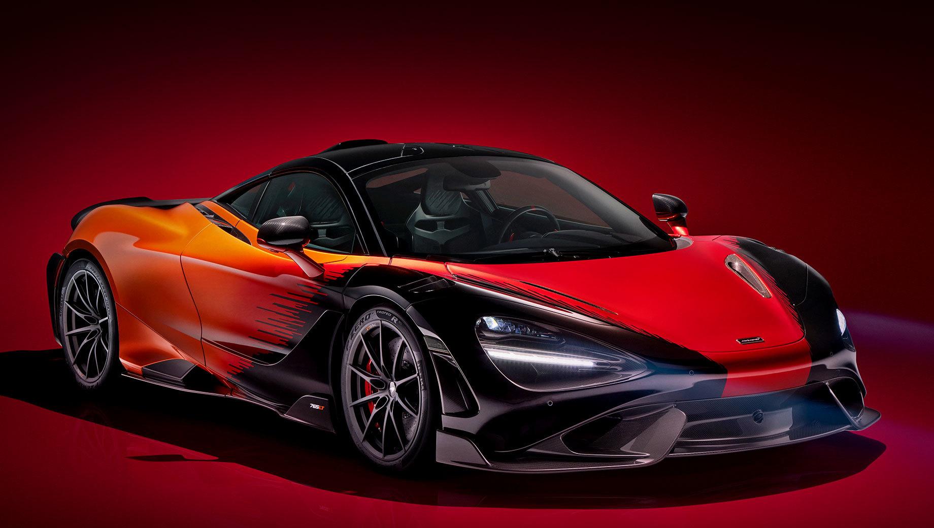 McLaren 765LT Strata Theme by MSO отличился окраской