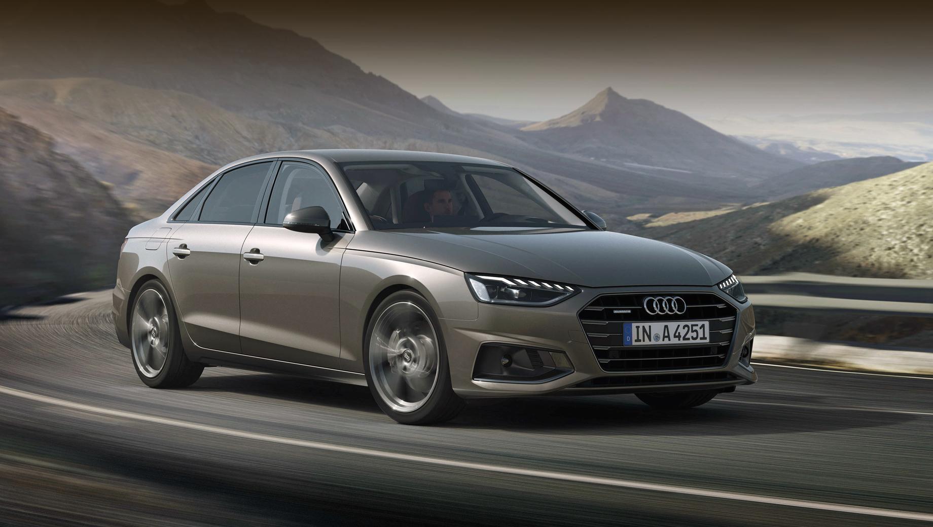 Audi a4,Audi a5,Audi a4 avant,Audi a4 allroad,Audi a5 sportback. У дилеров рестайлинговые A4 и A5 появятся в ноябре, а пока начат приём заказов.