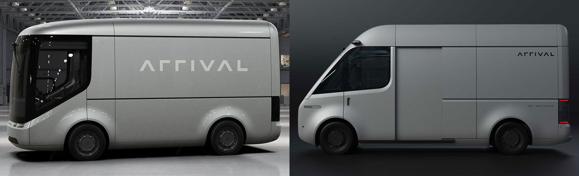 Фирма Arrival изменила дизайн батарейного фургона