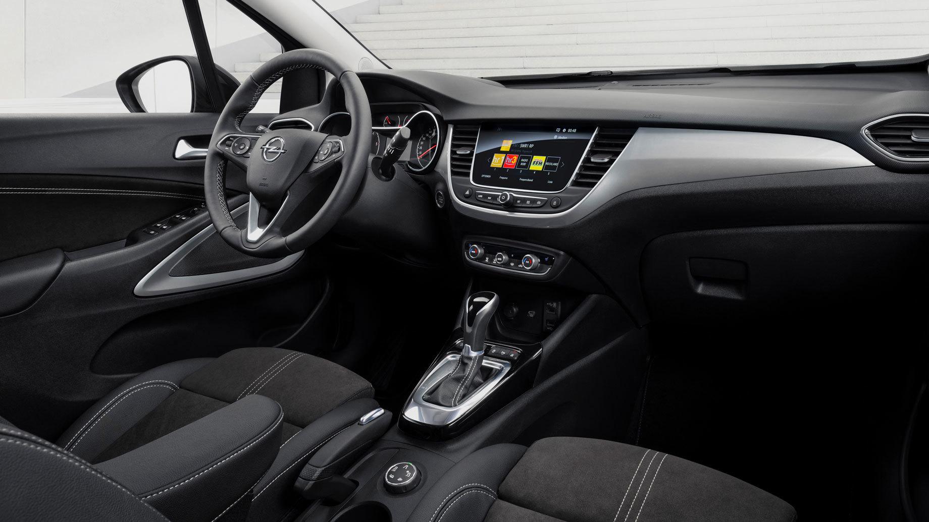 Обновлённый Opel Crossland будет предлагаться вРоссии