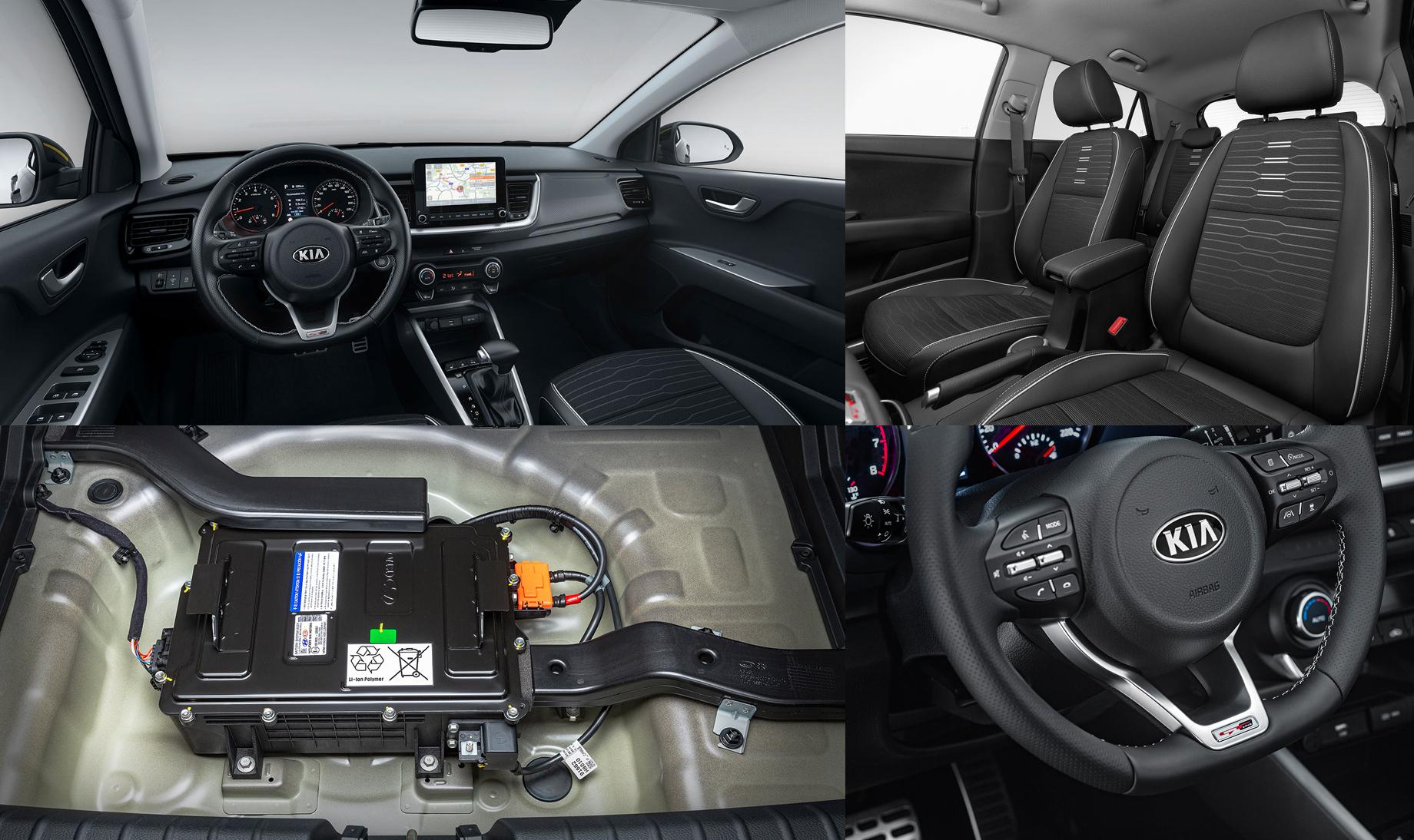Версия Kia Stonic GT Line прибавила субкомпакту яркости