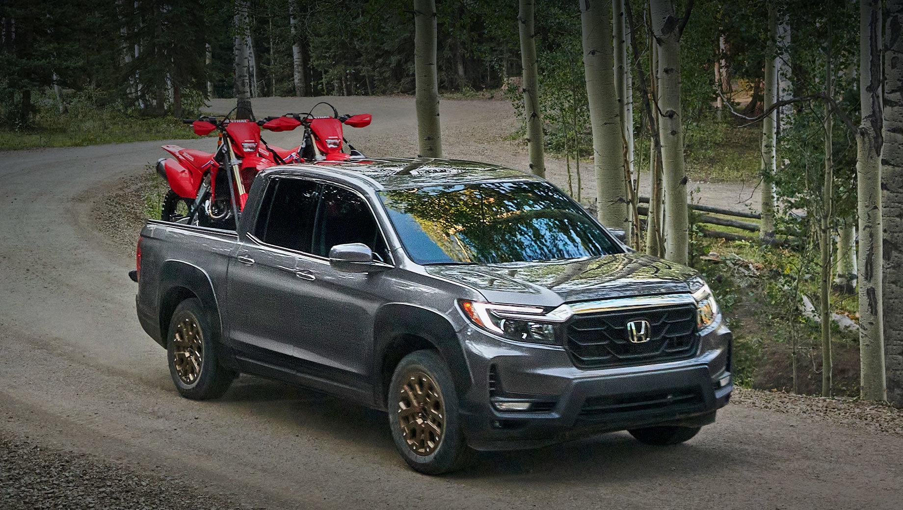 Honda Ridgeline изменилась внешне для Северной Америки