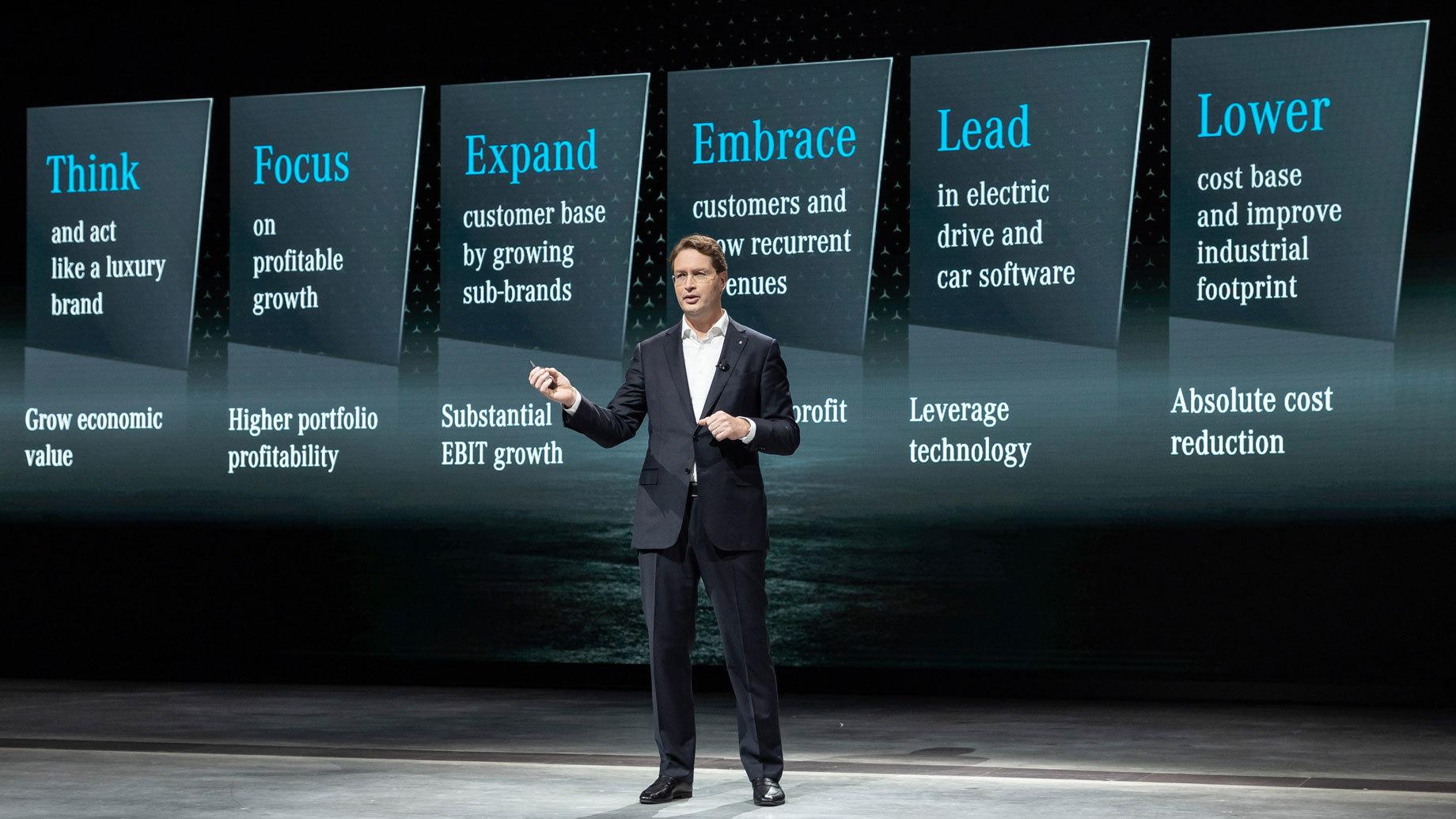 Mercedes-Benz презентовал обновлённую бизнес-стратегию
