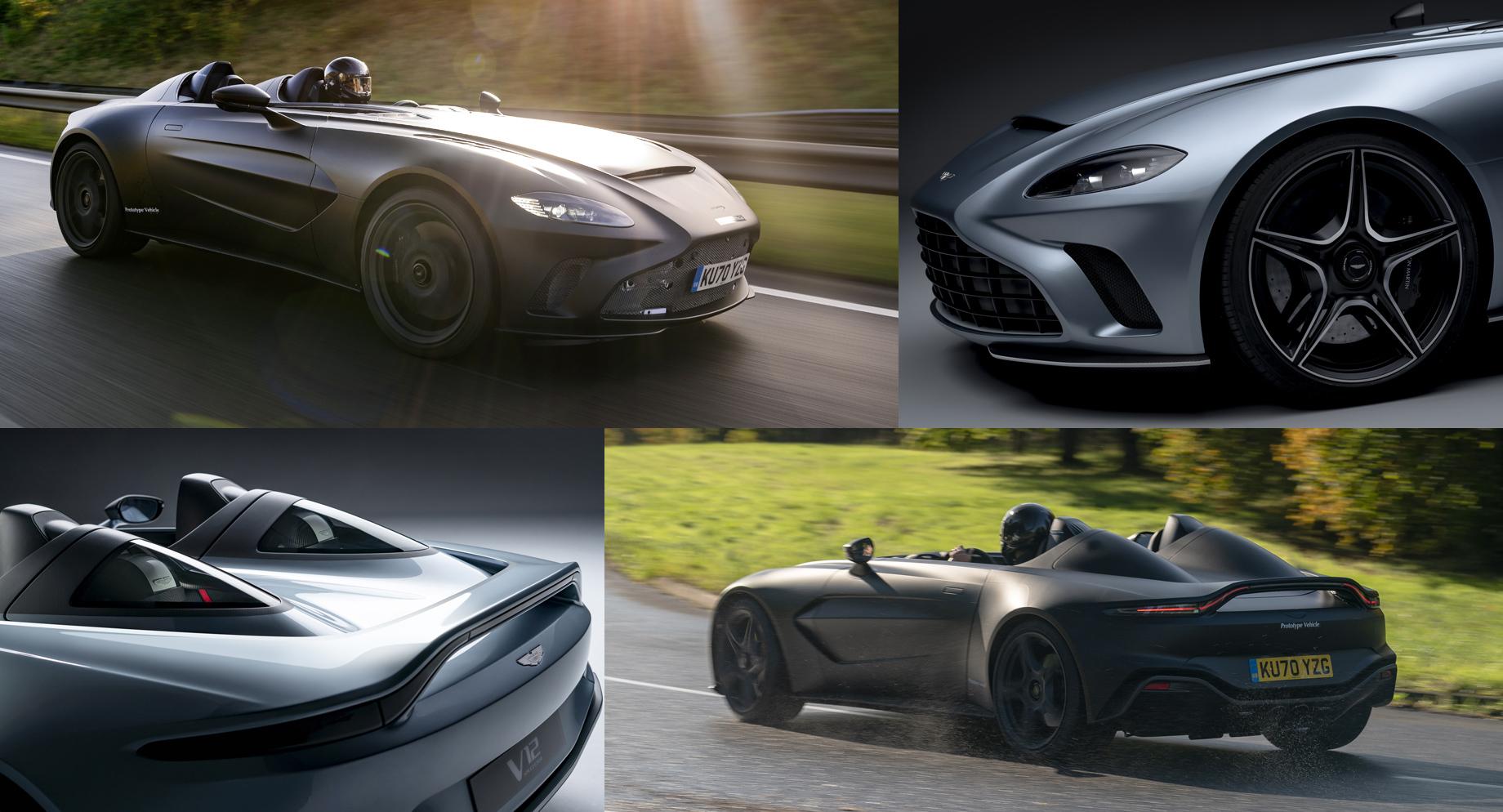 Предсерийный Aston Martin V12 Speedster подготовлен ктестам