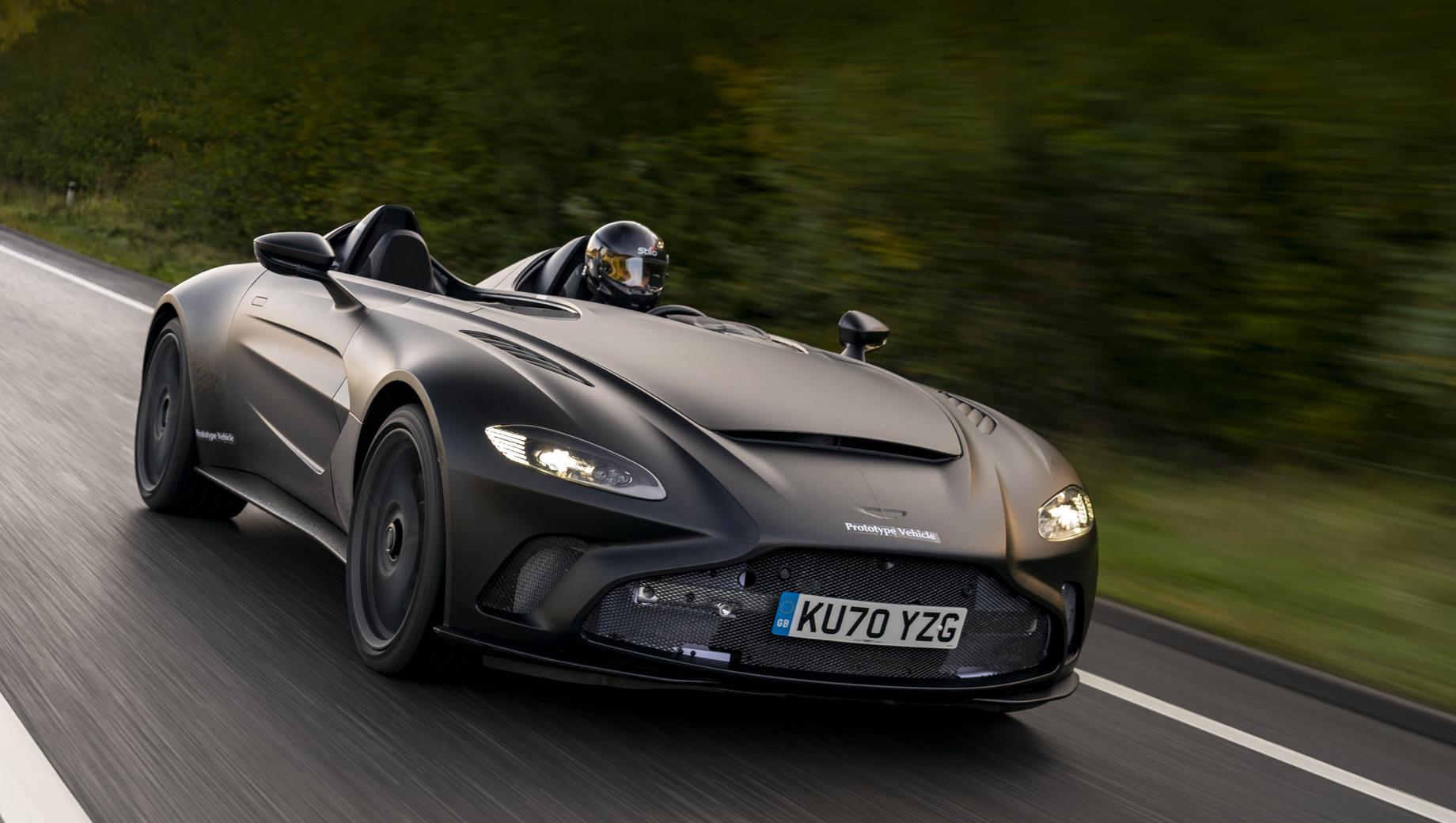 Предсерийный Aston Martin V12 Speedster подготовлен к тестам