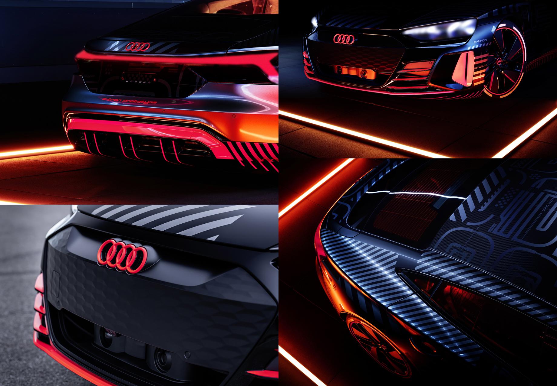 Началась пробная сборка серийных седанов Audi e-tron GT