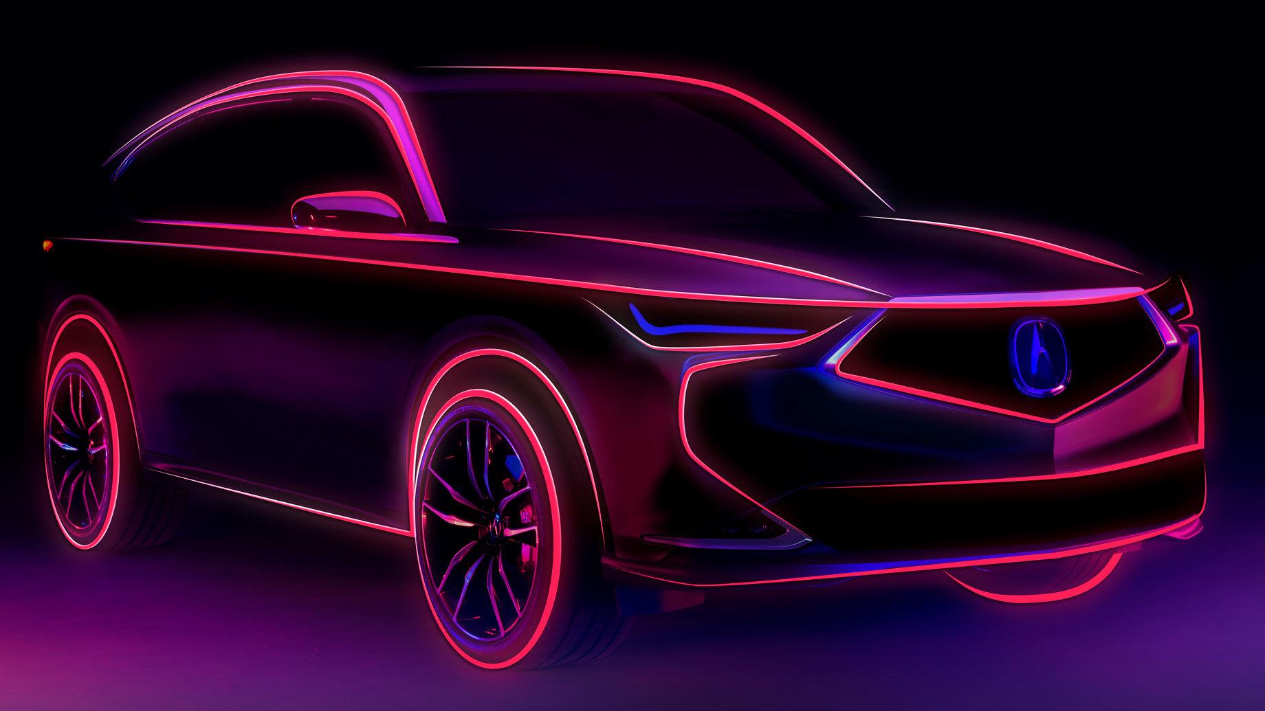 Дополнено: Новая Acura MDX дебютирует как прототип