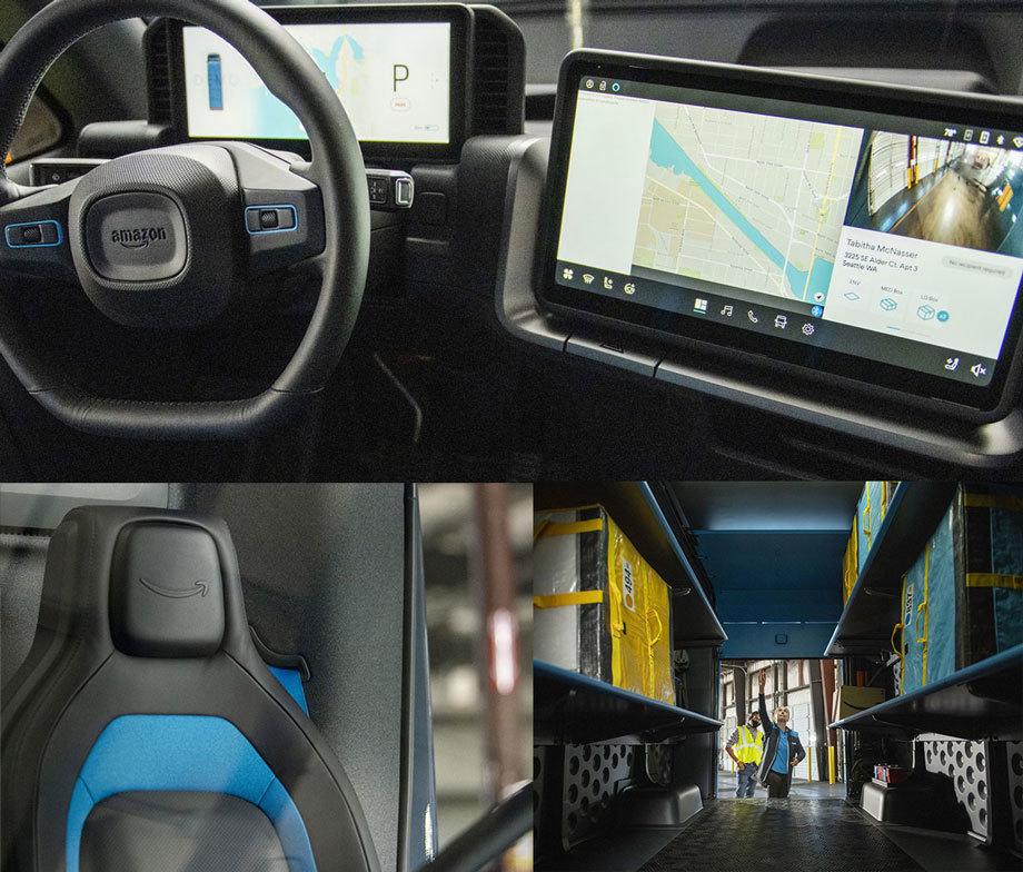 Rivian иAmazon построили электрический фургон