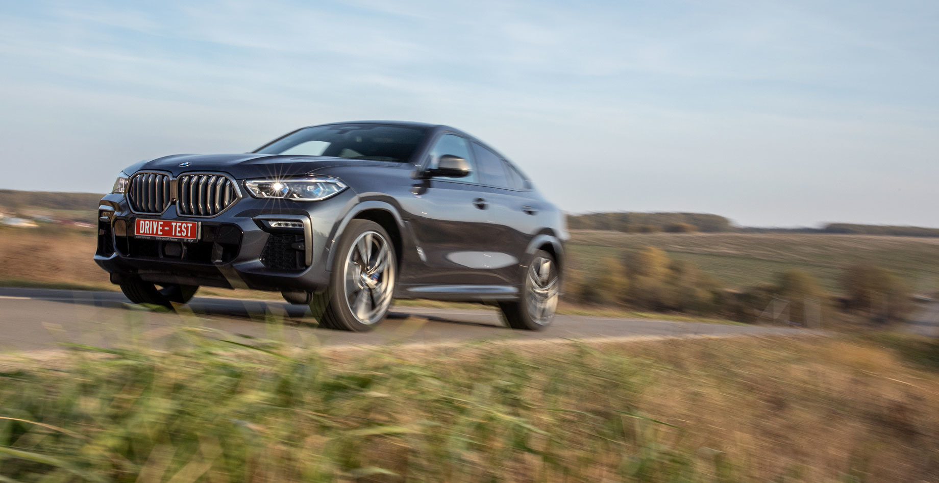 Проводим тест BMW X6 M50d и Mercedes GLE 400 d Coupe