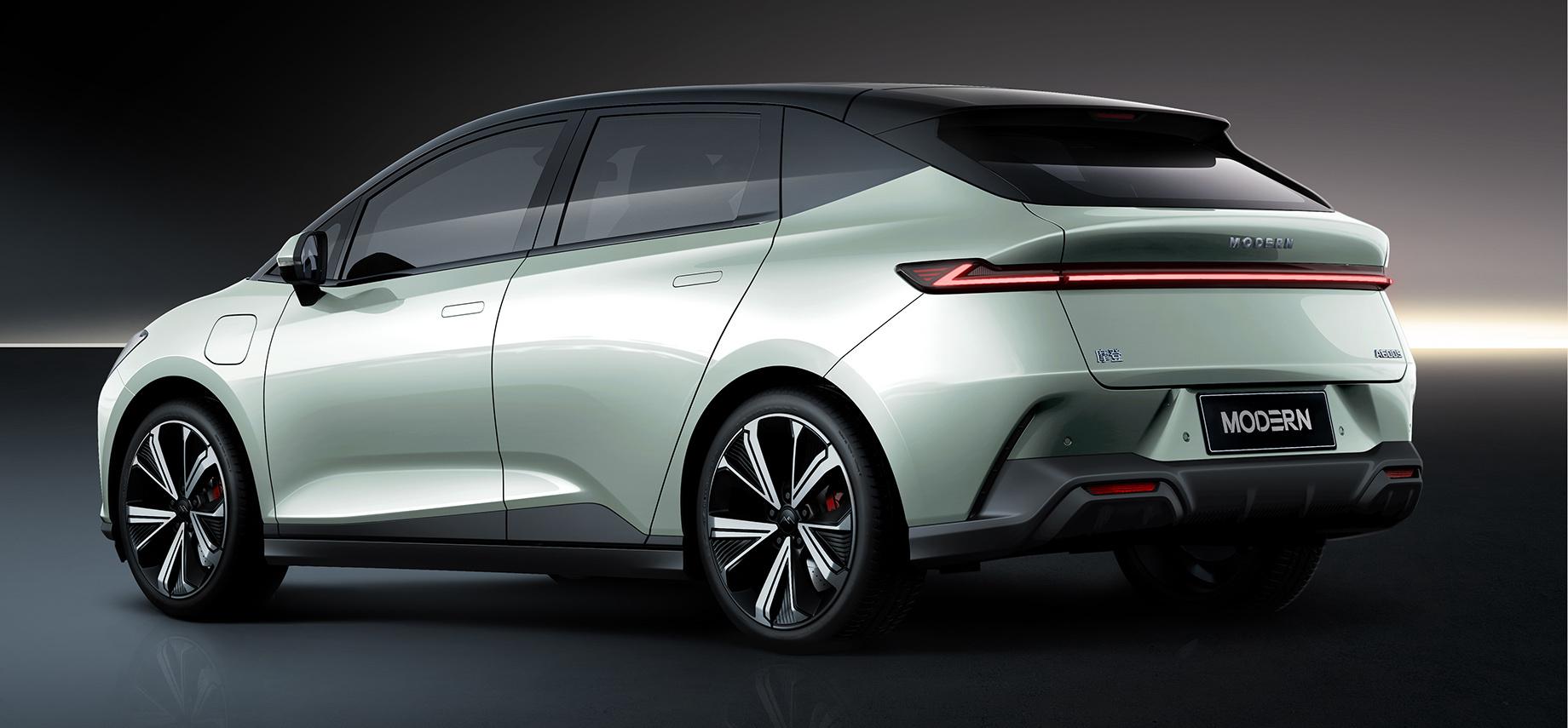 Новая марка Modern Auto начнёт карьеру спятидверки A