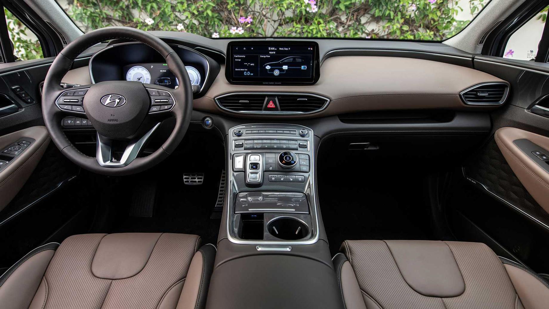 Hyundai Santa Fe разжился новыми агрегатами вСША