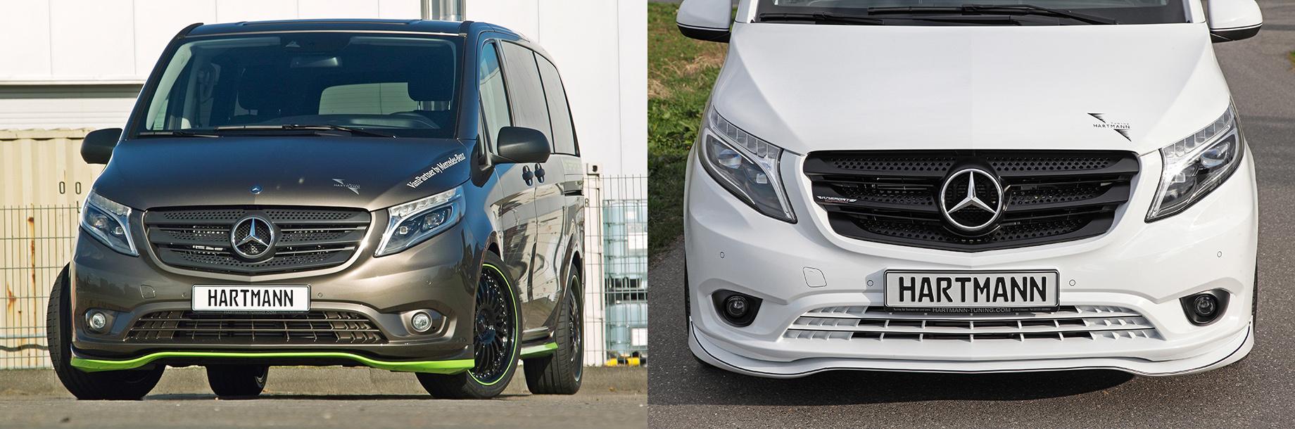 Вэны Mercedes-Benz Vito отозваны для усиления бампера