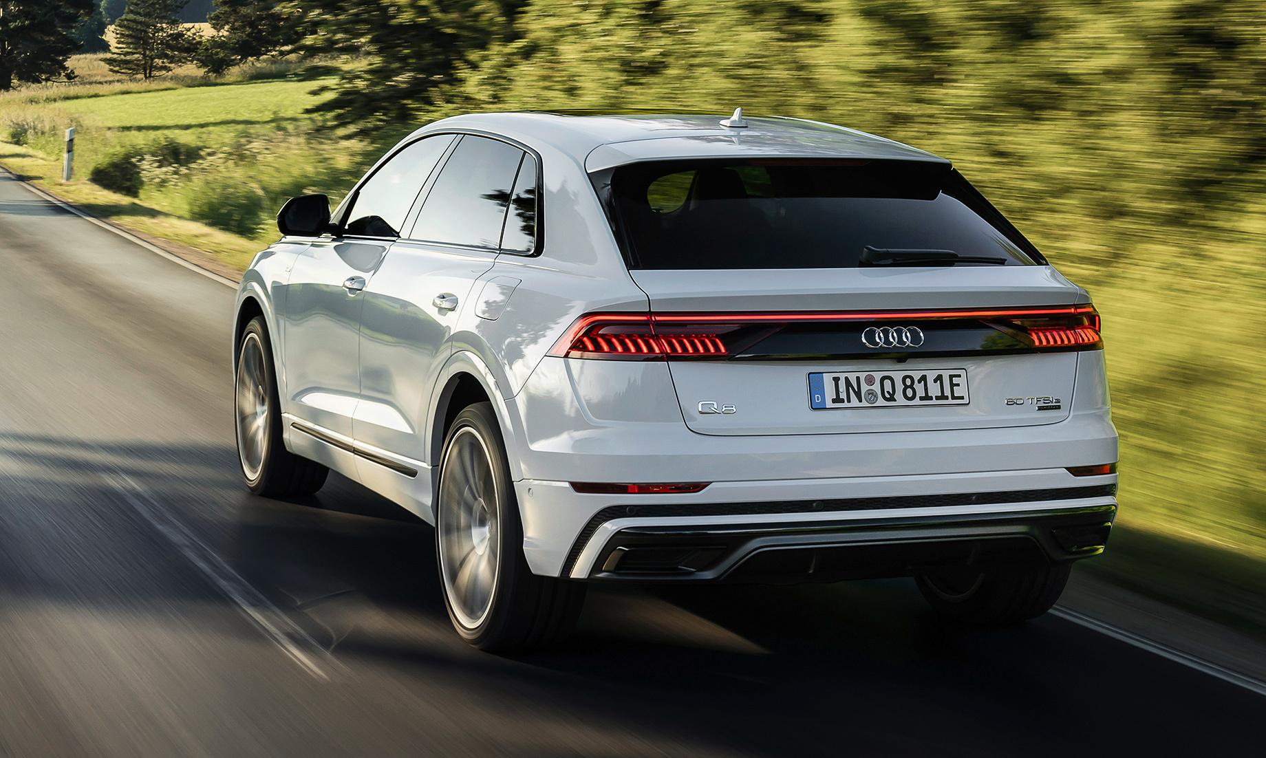Раскрыты характеристики гибрида Audi Q8 TFSI e quattro
