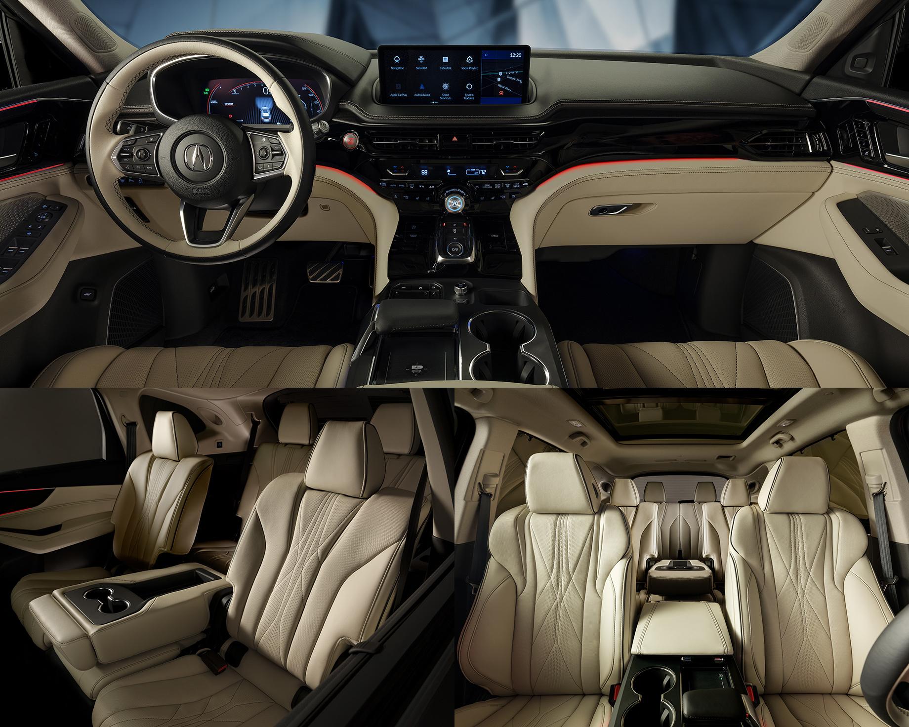 Кроссовер Acura MDX предстал впочти серийном обличье
