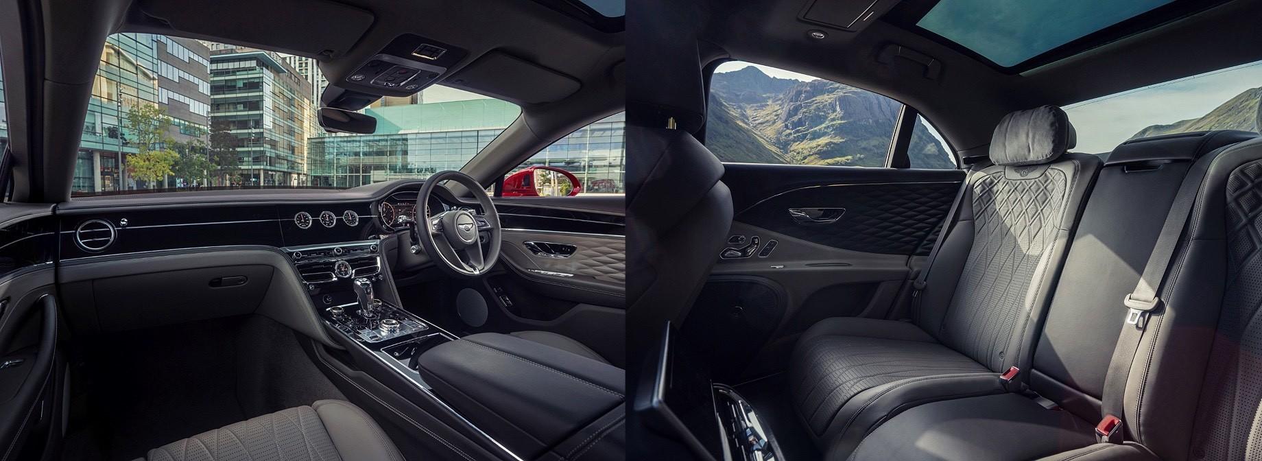 Седан Bentley Flying Spur V8 настроился наводителя