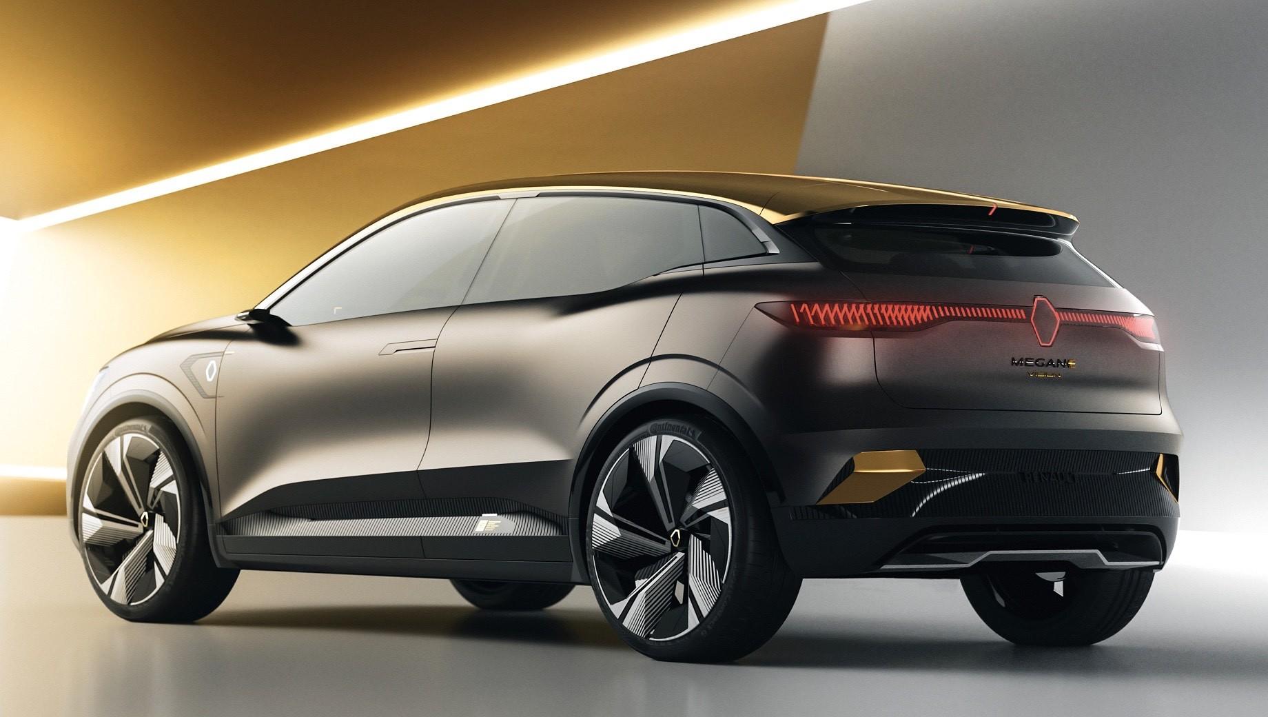 Renault Megane eVision стал предвестником электрохэтчбека