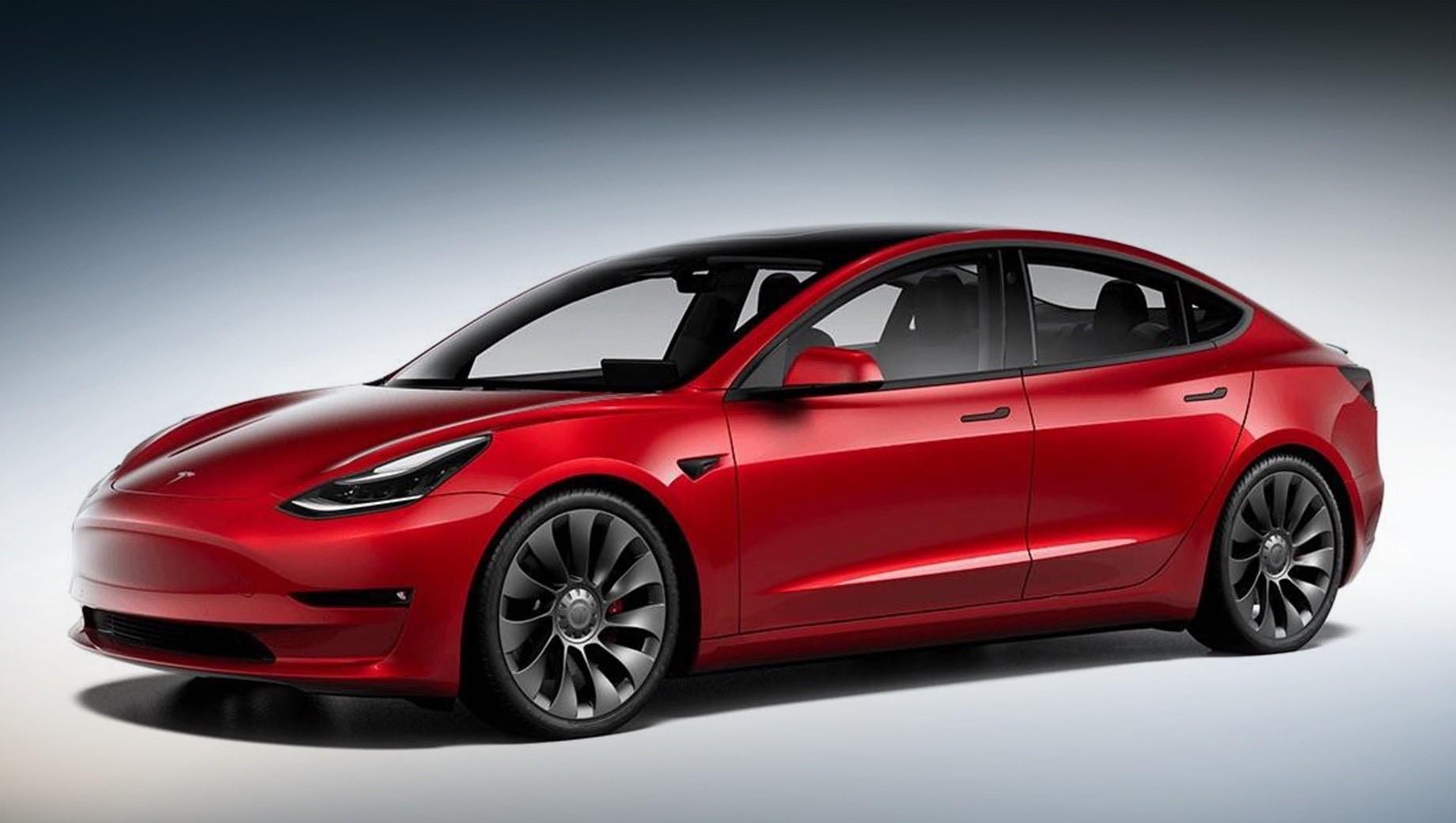 Tesla Model 3 прибавила в динамике и запасе хода