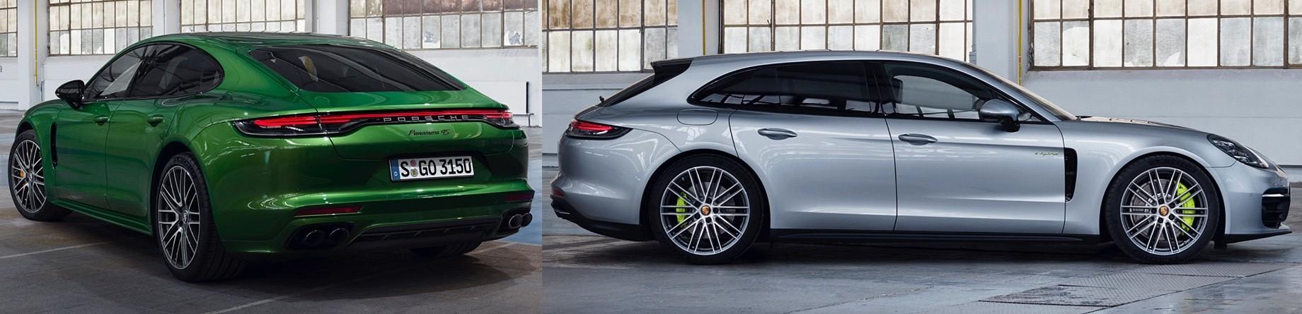 Модель Porsche Panamera Turbo S E-Hybrid прибавила вотдаче