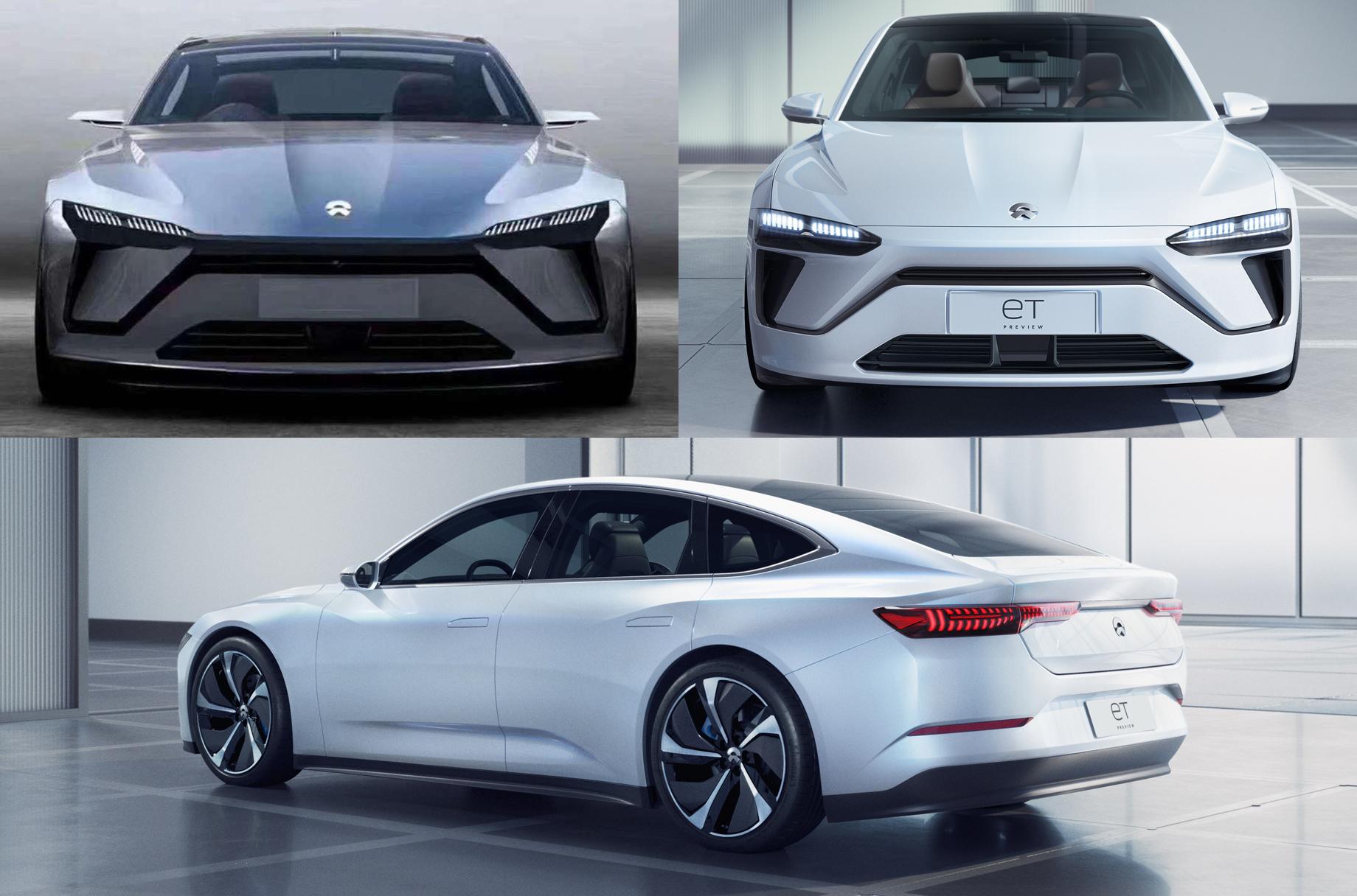 Фирма Nio представит флагманский седан вначале 2021 года
