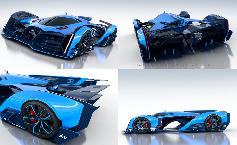 Компания Bugatti анонсировала премьеру необычного суперкара