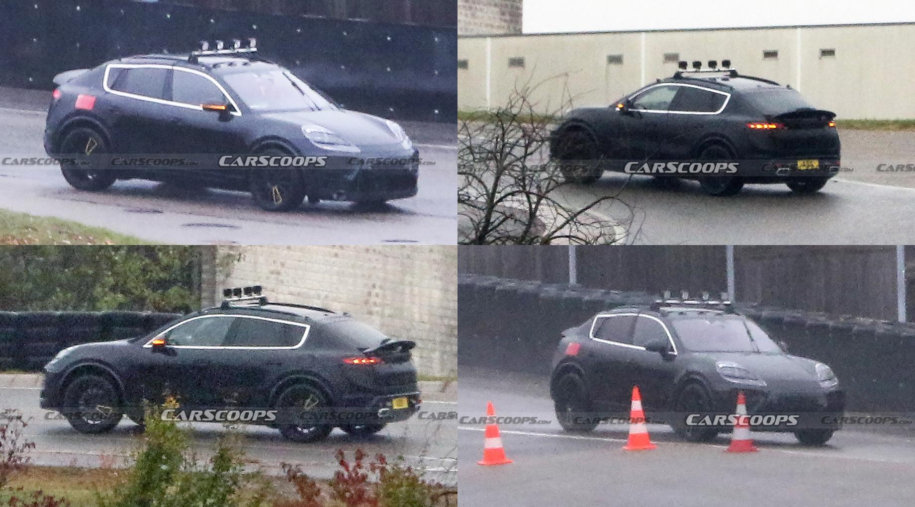 Начались испытания следующего поколения Porsche Macan