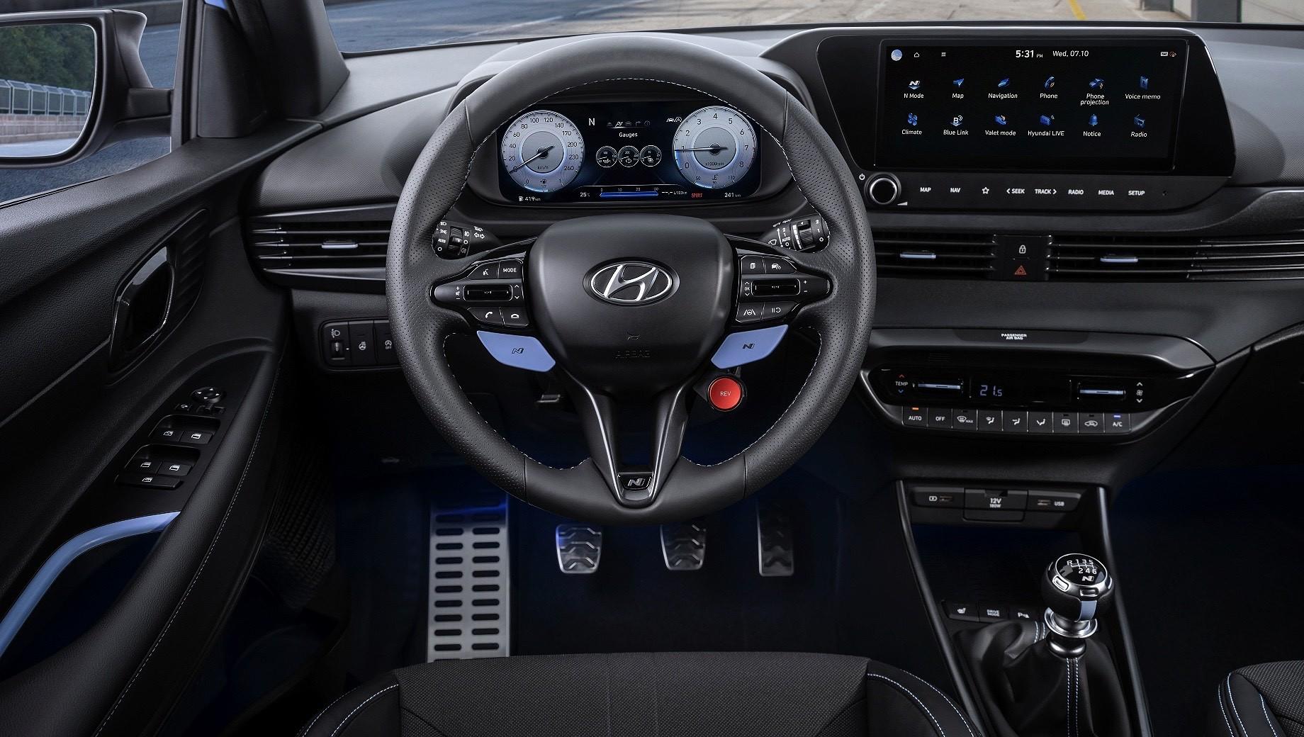 Hyundai i20 N порадует фанатов скорости основательностью