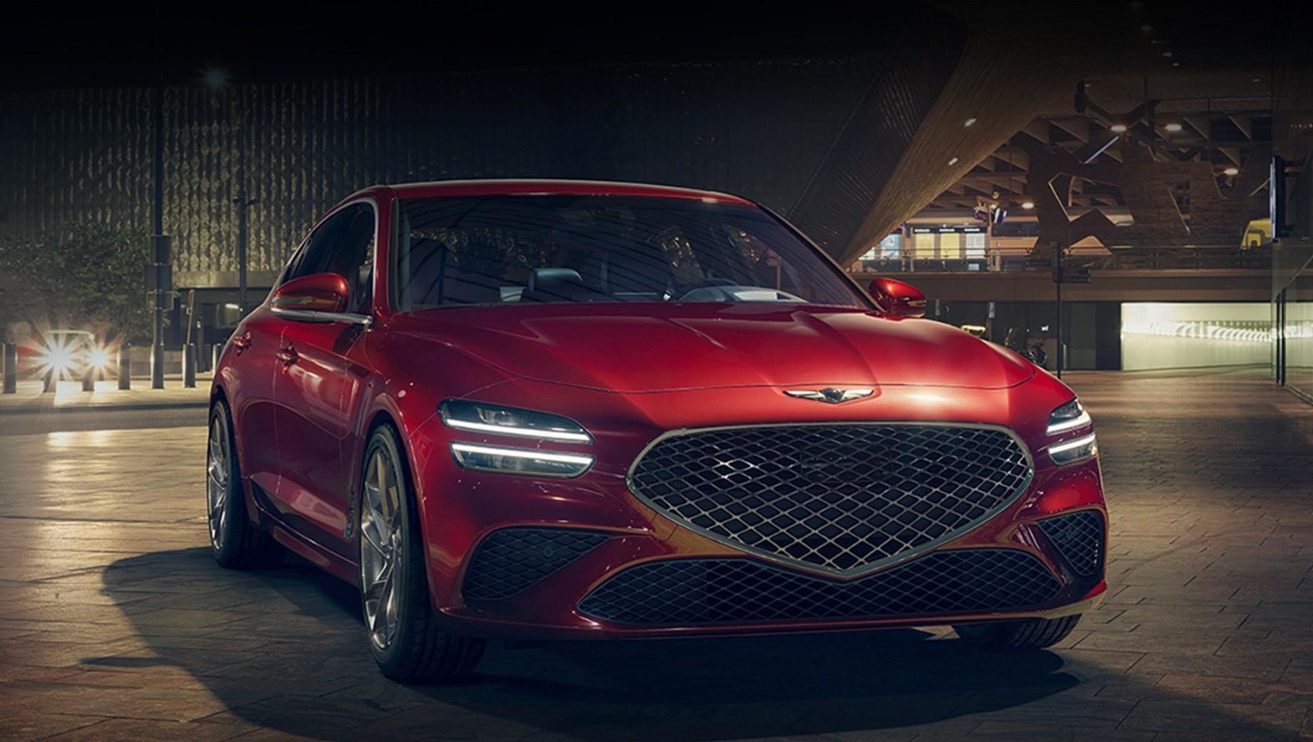 Корейцы поделились новыми подробностями о седане Genesis G70