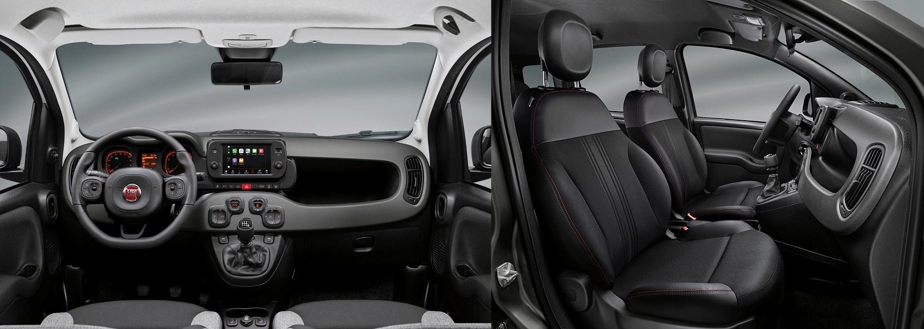 Хэтчбек Fiat Panda впервые получил мультимедийную систему
