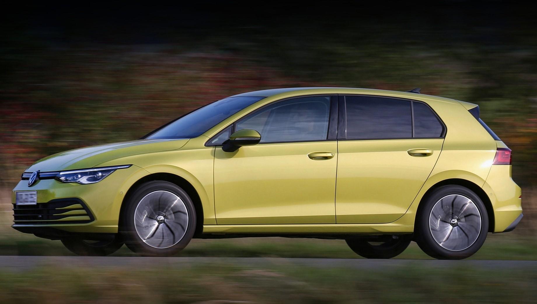 «Восьмой» Volkswagen Golf разжился метановой версией TGI
