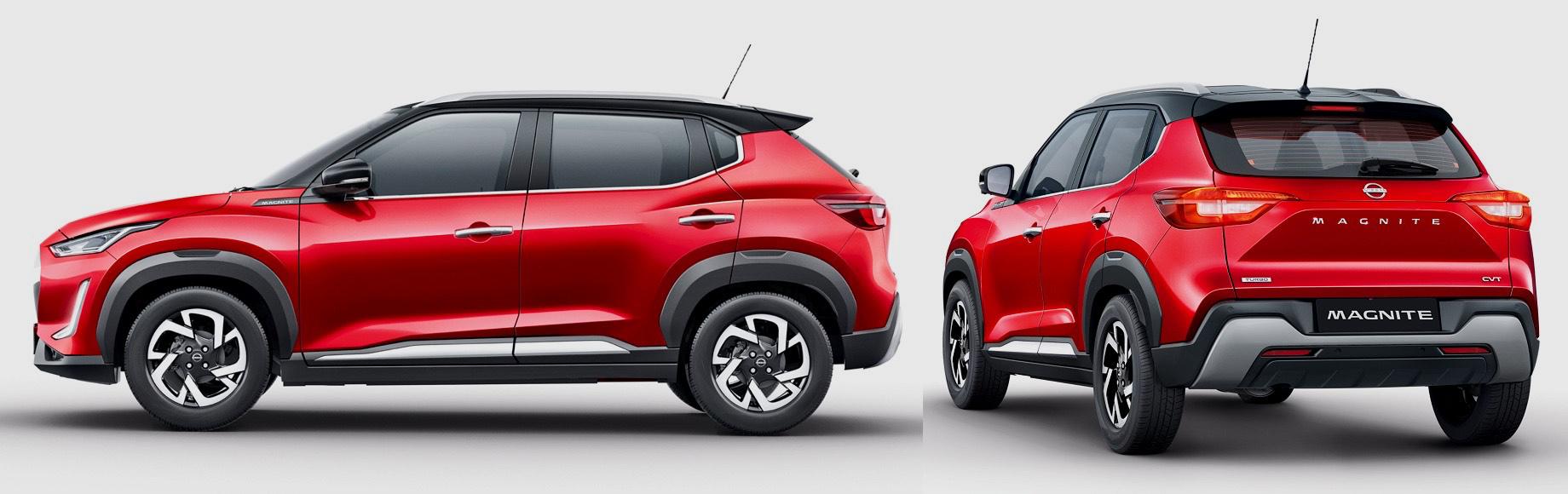 Серийный кроссовер Nissan Magnite неизменил концепту