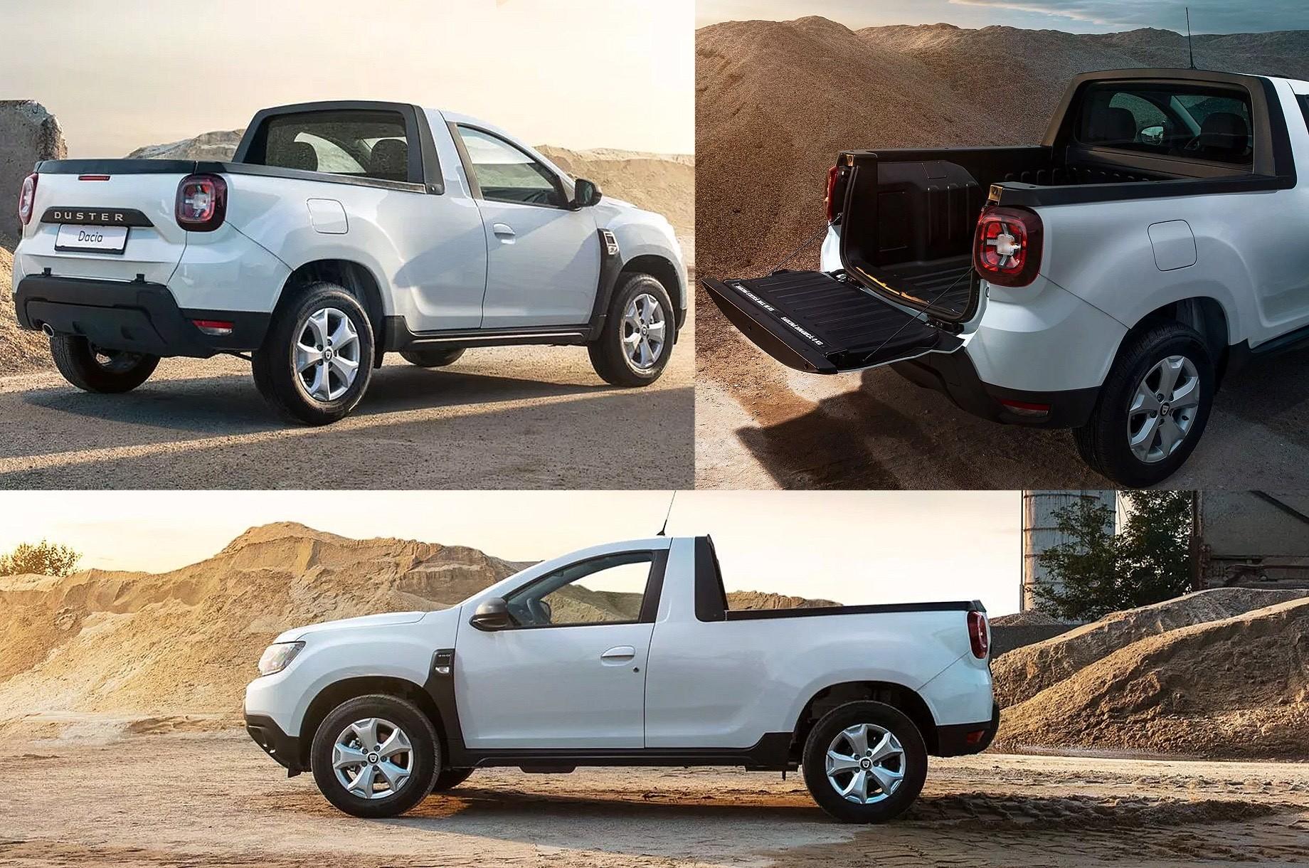 Пикап Dacia Duster превратился вофициальную модель