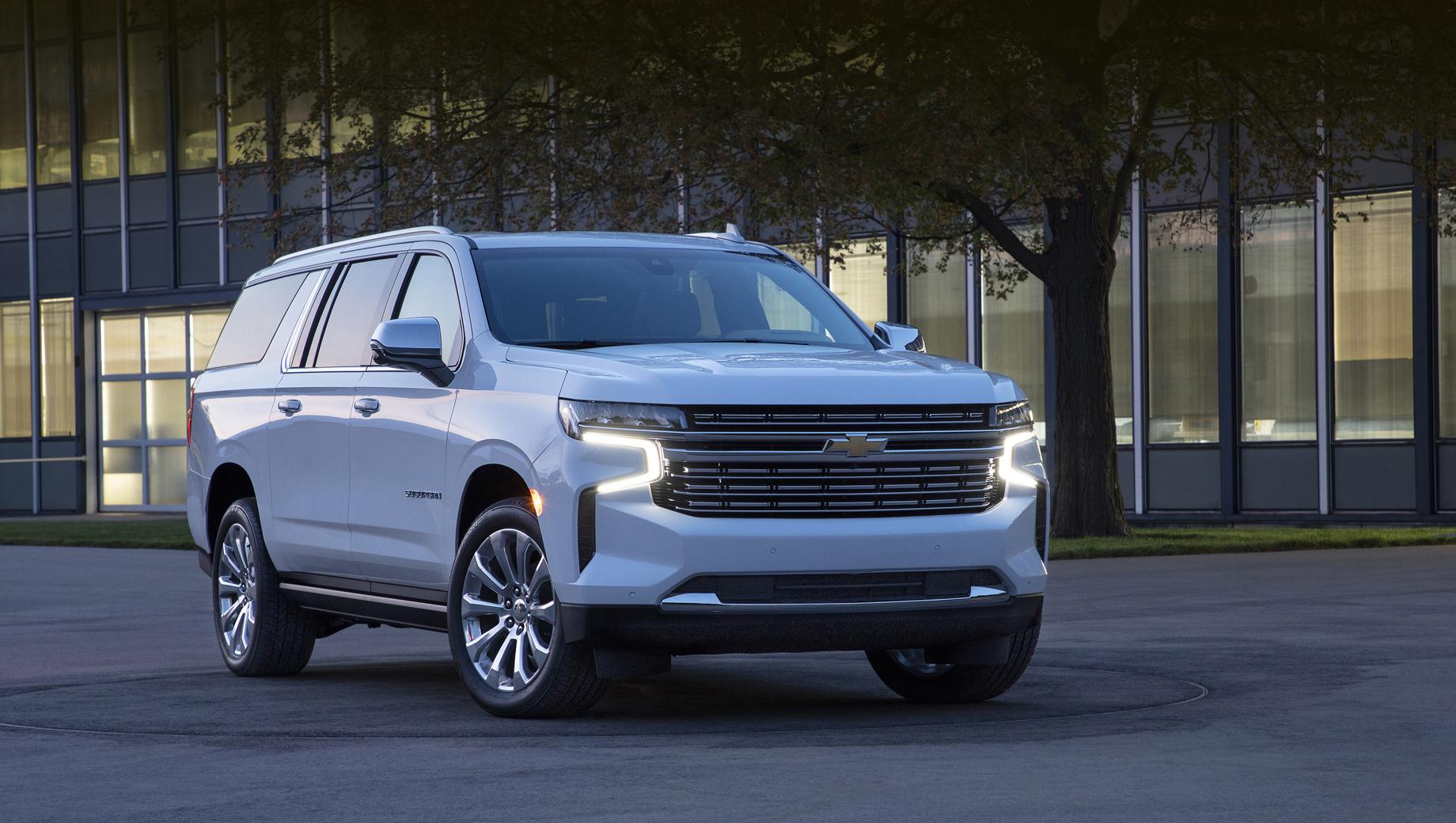 Менеджер GM намекнул на новый Chevrolet Suburban HD