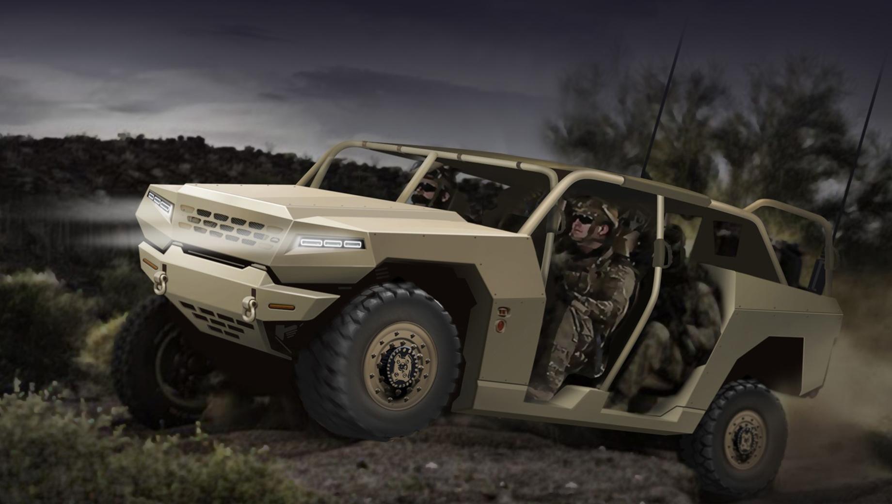 Kia mohave,Kia atv. В данном проекте корейцы применят подход, аналогичный тому, что был использован GM при создании вездехода Defense Infantry Squad Vehicle или маркой Jeep в Extreme Military-Grade Truck: «гражданские» компоненты и узлы адаптируются к военному применению.