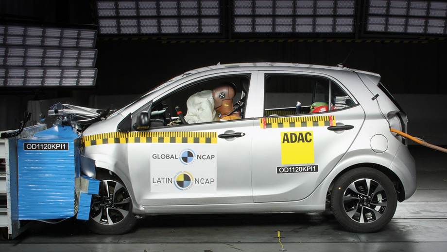 Хэтчбек Kia Picanto снова не заслужил звёзд Latin NCAP