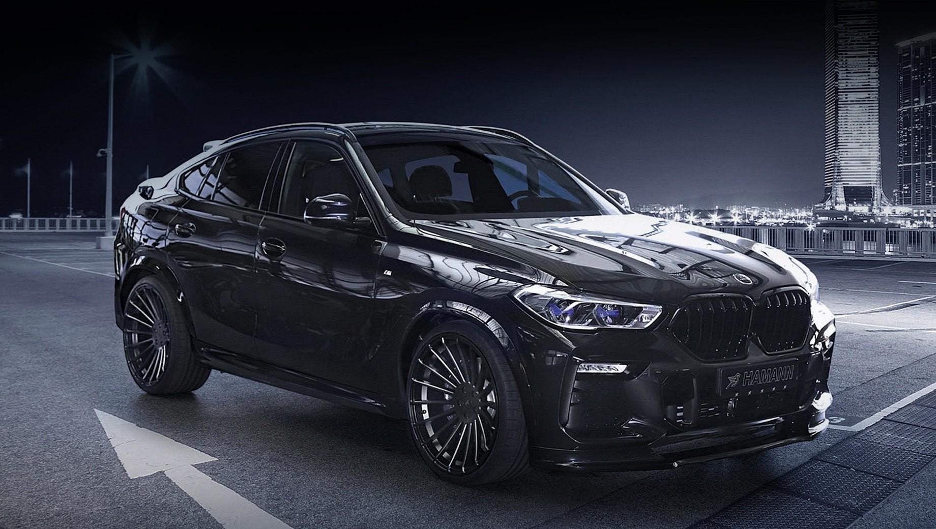 Ателье Hamann сосредоточилось на стайлинге для BMW X6
