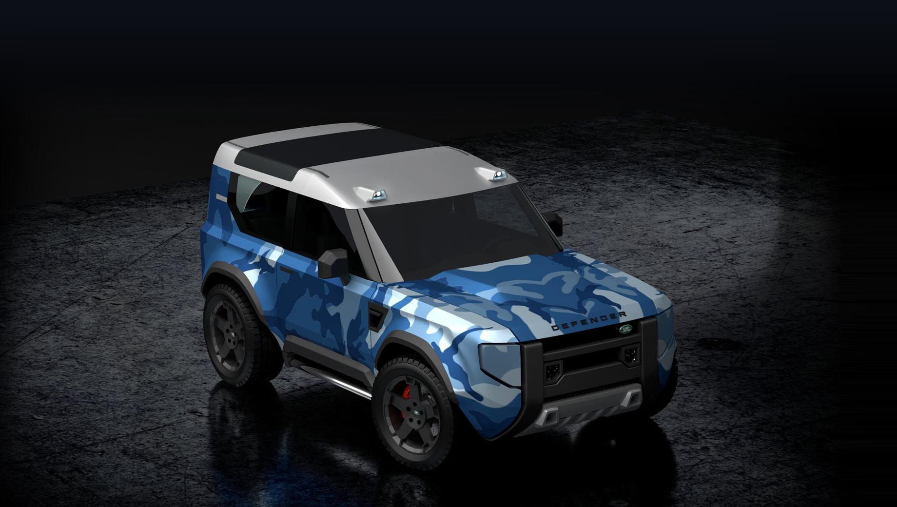 Land Rover Baby Defender выйдет через пару лет