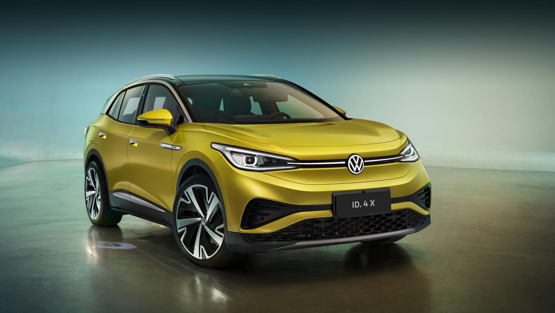 Электрокроссовер Volkswagen ID.4 X дебютировал в Китае