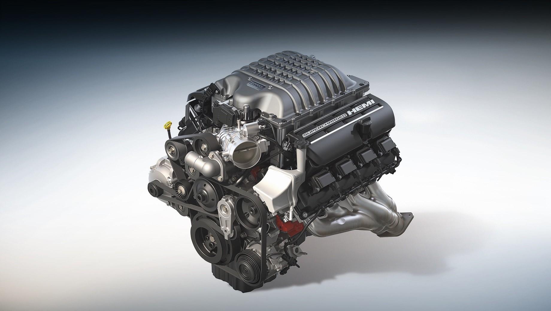 Мотор V8 6.2 Hellcrate Redeye расширил каталог Mopar