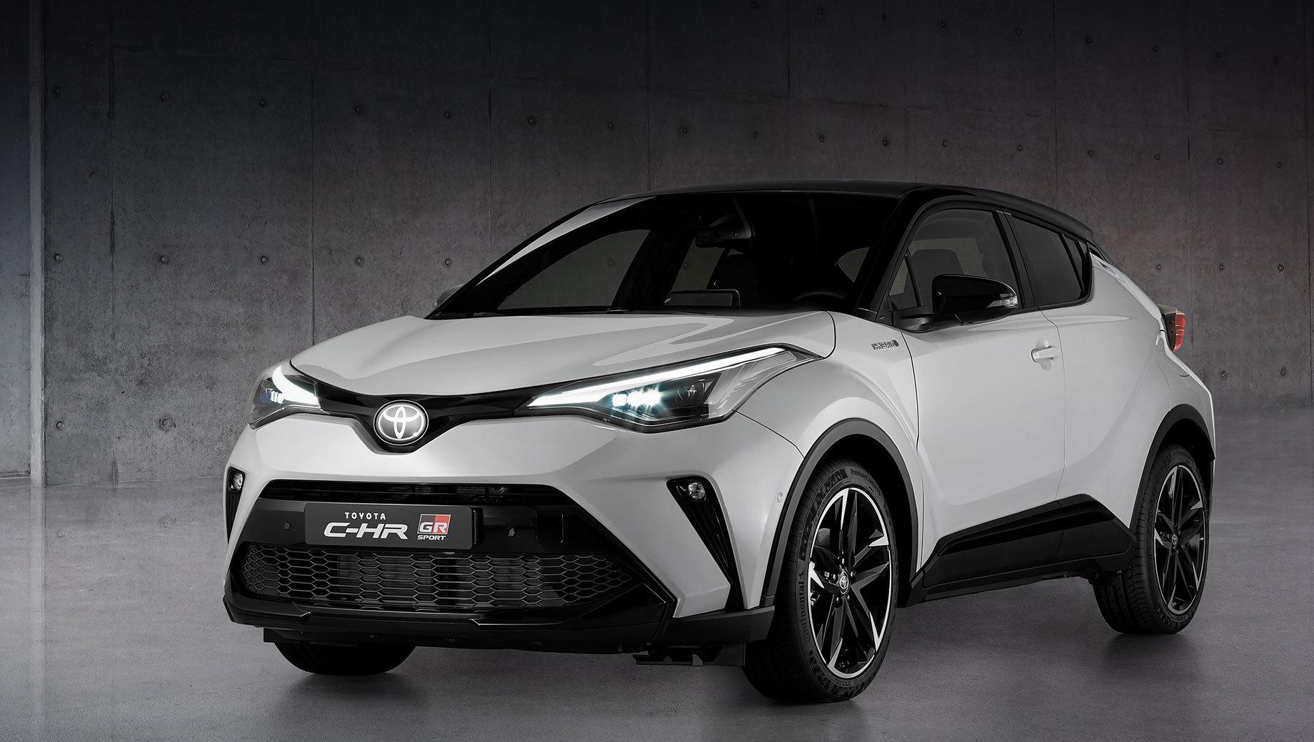 Toyota C-HR в версии GR Sport добралась до Европы