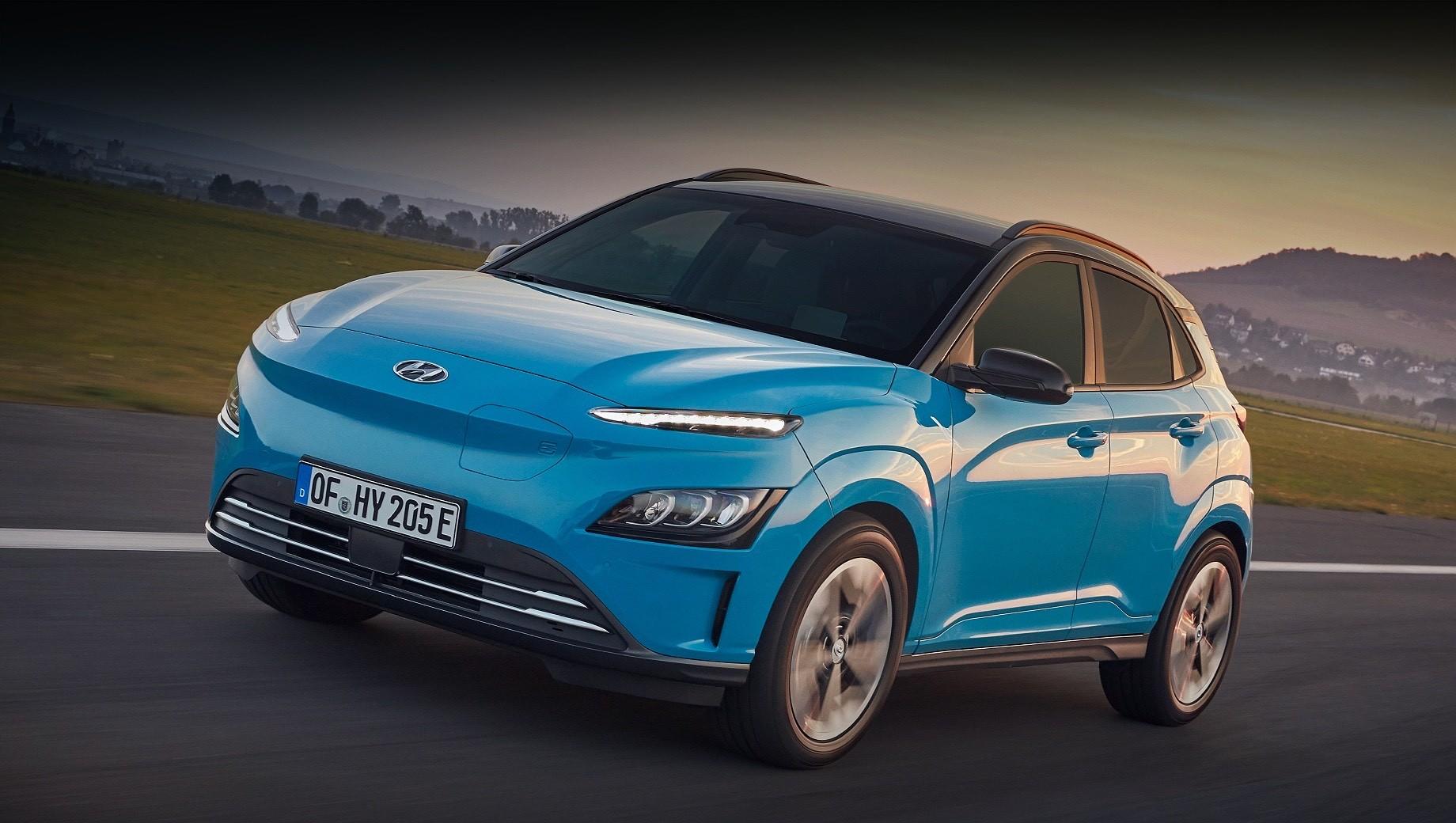 Кроссовер Hyundai Kona Electric заметно обновился снаружи и внутри