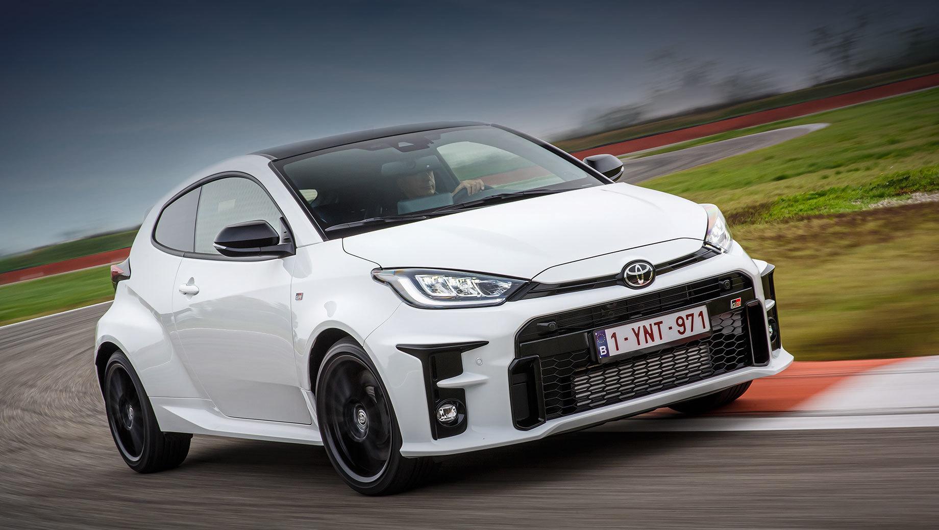 Хот-хэтч Toyota GR Yaris вышел на европейский рынок