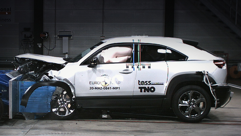 Mazda MX-30 и Honda Jazz заслужили пять звёзд от Euro NCAP