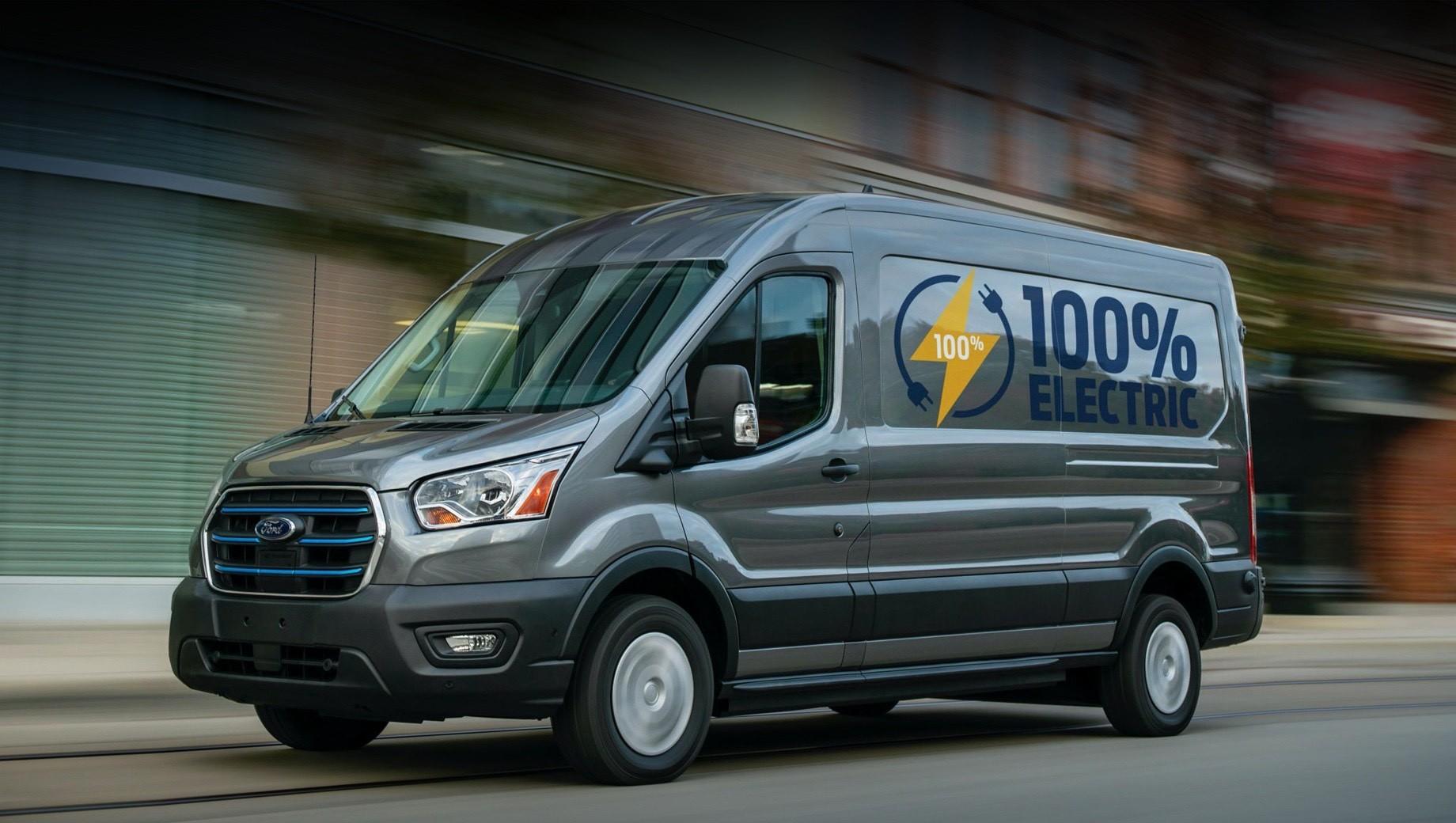 Продажи электрокара Ford E-Transit начнутся в 2022 году