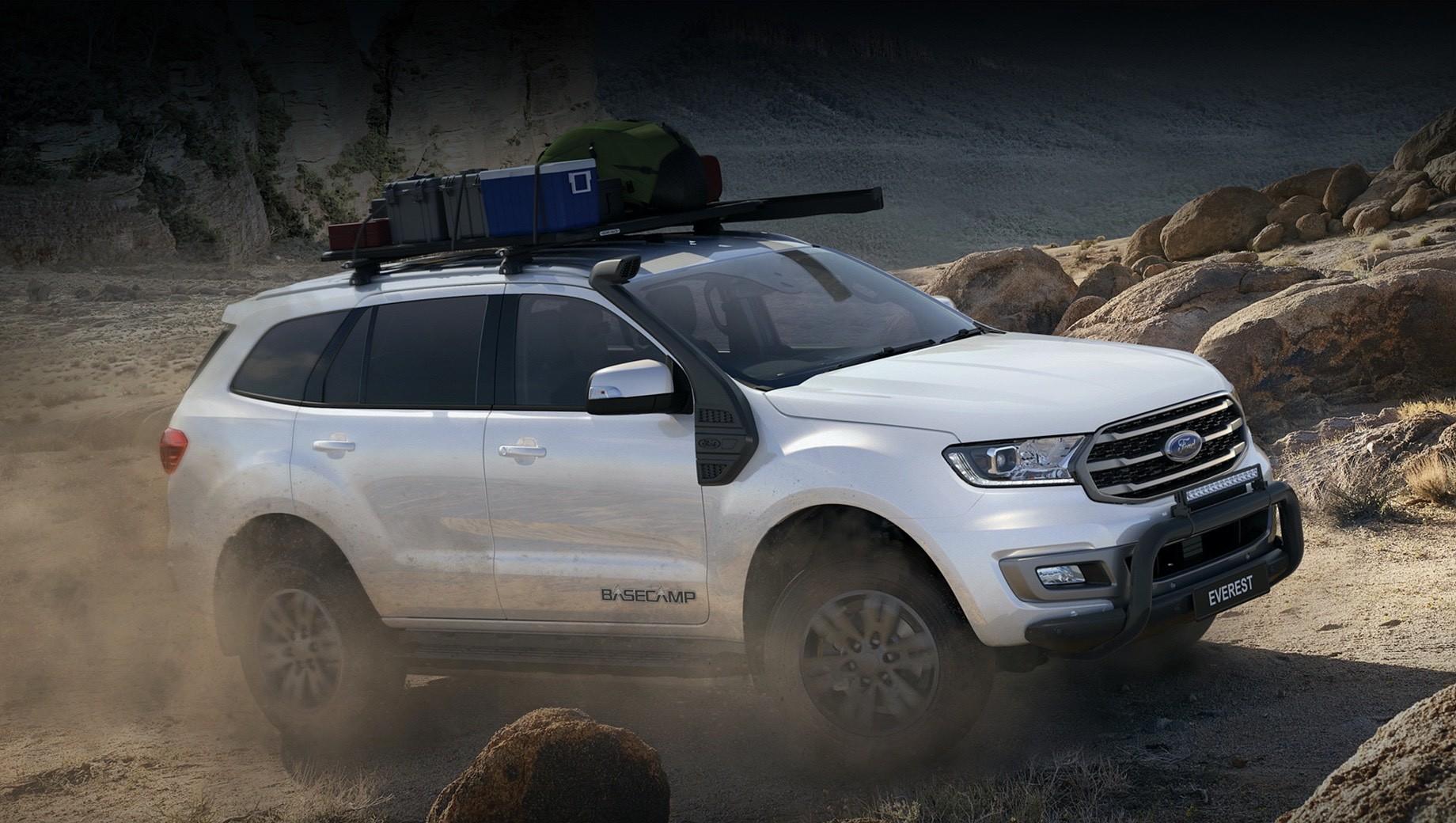 Австралийский Ford Everest BaseCamp позвал в путешествие