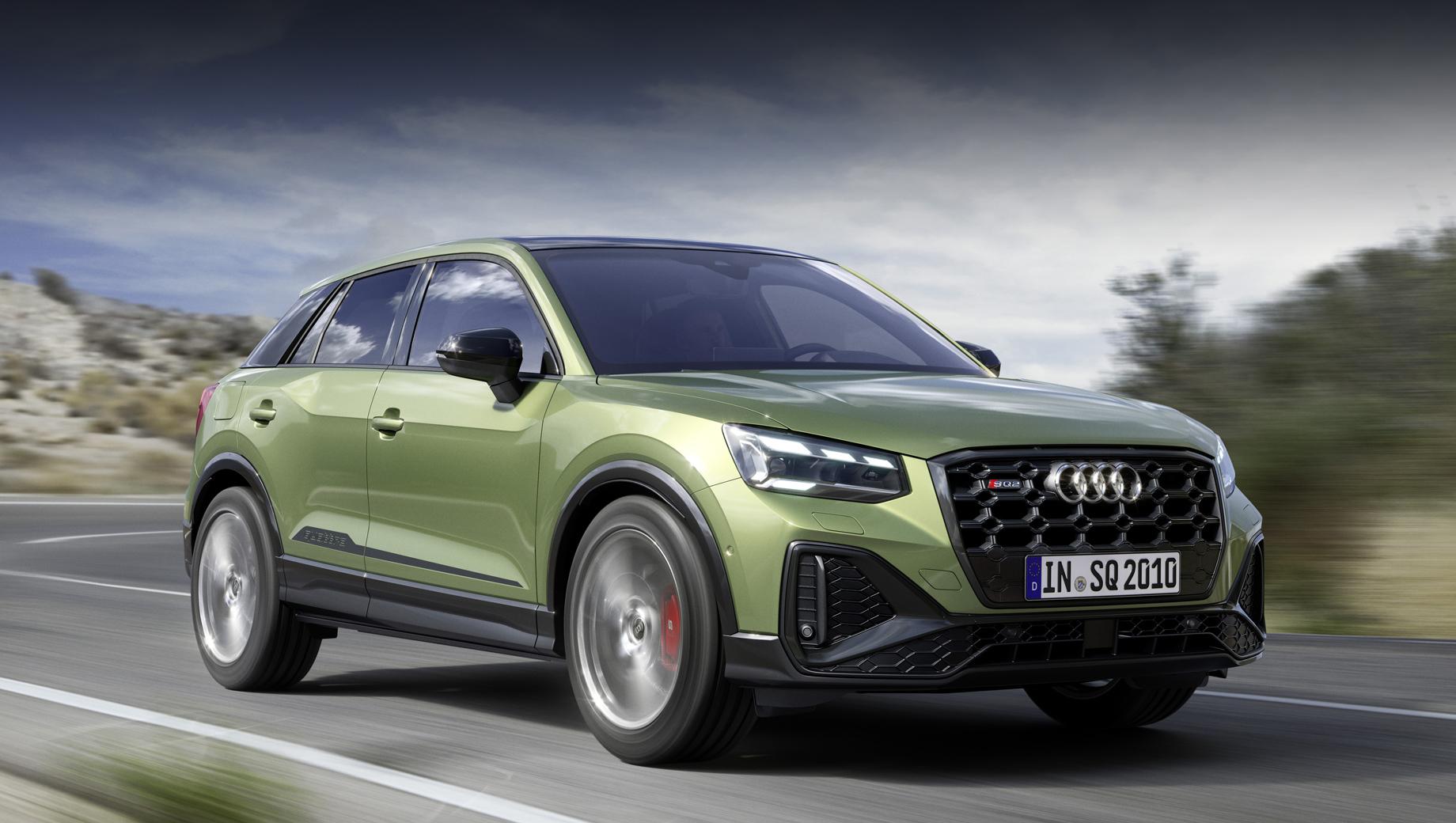 Audi SQ2 поменял облик и улучшил оснащение