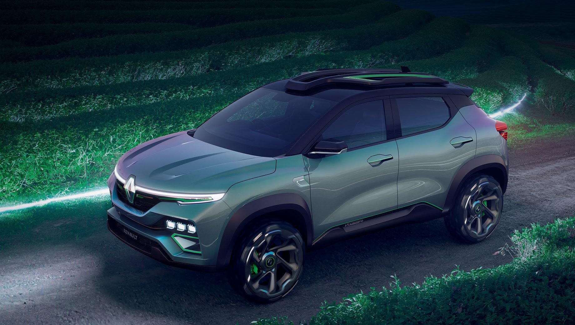 Шоу-кар Renault Kiger анонсировал субкомпакт для Индии
